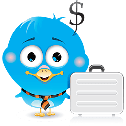 Birdie Business Emoticon