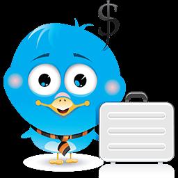 Birdie Business Emoticon
