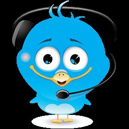 Operator Bird Emoticon