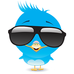 Blue Bird Emoticons