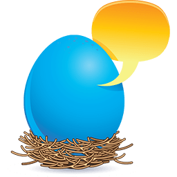 An Unhatched Thought Emoticon