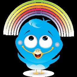 Rainbow Love Emoticon
