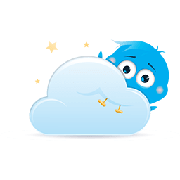 Lost In The Clouds Emoticon