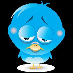Blue Bird Blues Emoticon