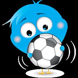 Sporty Bird Emoticon