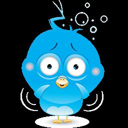 Birdie Anxiety Emoticon