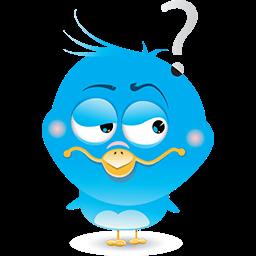 Suspicious Bird Emoticon