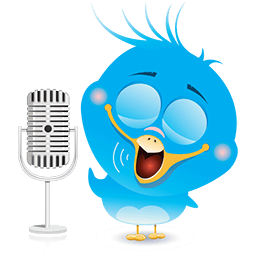 Radio Birdie Emoticon