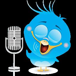 Radio Birdie Emoticon