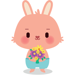 I Brought Flowers Emoticon