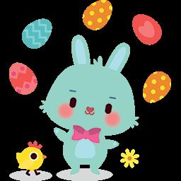 Just Juggling Eggs Emoticon