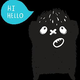 Hi Hello Emoticon