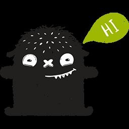 Goofy Hello Emoticon