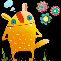 Springtime For Creature Emoticon