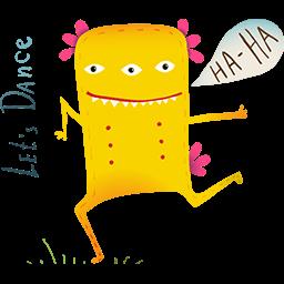 Dance Party Emoticon