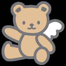 Left Pointing Bear Emoticon