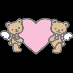 Heart Bears Emoticon