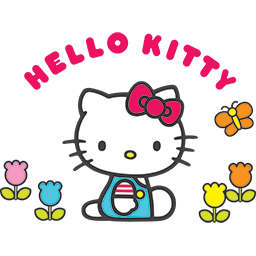 Hello Kitty Garden Emoticon