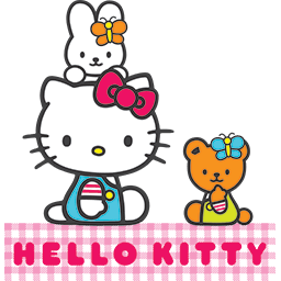 Kitty Friends Picnic Emoticon