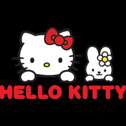 Friends Bunny Kitty Emoticon