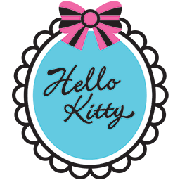 Hello Kitty Mirror Emoticon