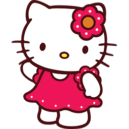 Hello Kitty Hello Emoticon