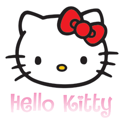 Hello Kitty Bow Emoticon