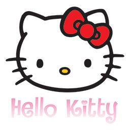 Hello Kitty Bow Emoticon