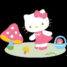 Kitty Garden Emoticon