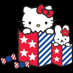 Kitty Bunny Fun Emoticon