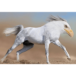 Horseagle Emoticon