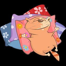 Comfy Nap Emoticon