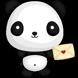 Love Getting Mail Emoticon