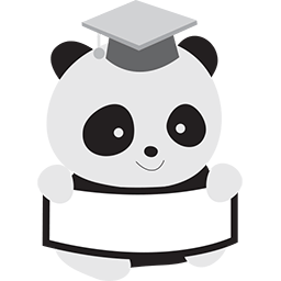 Panda Grad Emoticon