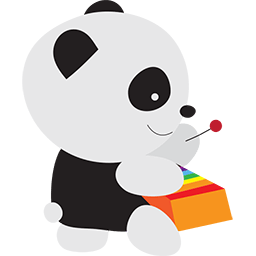 Xylophone Panda Emoticon