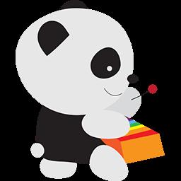 Xylophone Panda Emoticon