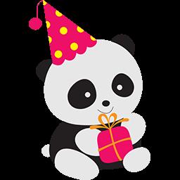 Birthday Fun Emoticon