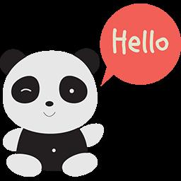 Saying Hello Emoticon