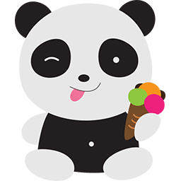 Ice Cream Fun Emoticon