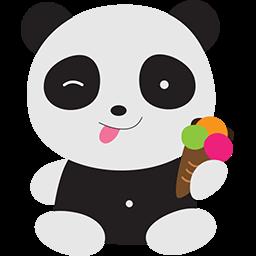 Ice Cream Fun Emoticon