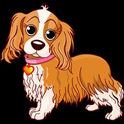 Puppy Spaniel Emoticon