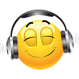 Listening To Music Emoticon