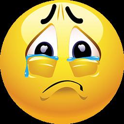 In Tears Emoticon
