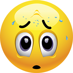 Tough Time Emoticon