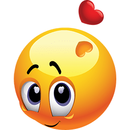 Looking Lovingly Emoticon