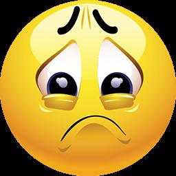 Brink Of Tears Emoticon