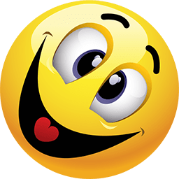Crazy And Happy Emoticon