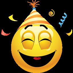 Loving The Party Emoticon