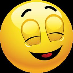Blissfully Unaware Emoticon