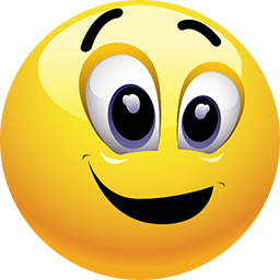 All Excited Emoticon